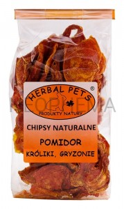 Herbal Pets Chipsy naturalne pomidor 40g