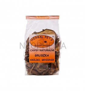 Herbal Pets Chipsy naturalne gruszka 75g